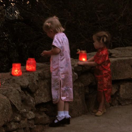 lighting up the path
