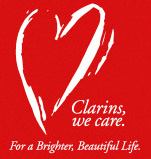 Clarins We Care logo