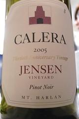 2005 Calera Jensen Pinot Noir