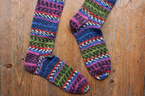 yet another pair of handknit socks