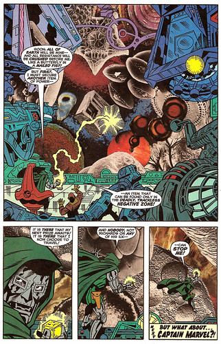 Jack Kirby-style photomontage by Rick Veitch, from Fantastic Four: The World's Greatest Comics Magazine #8 (September 2001)