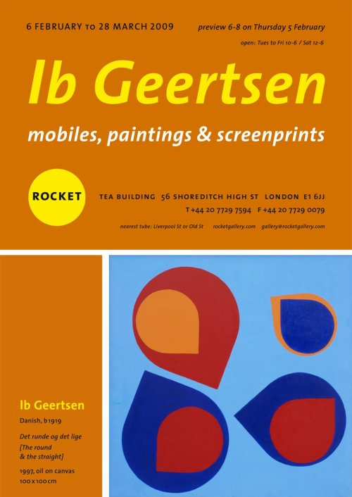 Ib Geertsen at Rocket, London