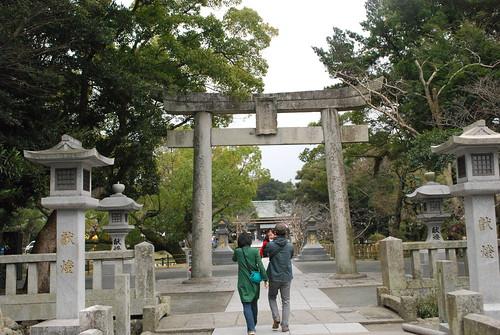 main torii (munakata taisha)