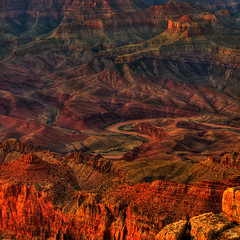 Colorado River Sunset Spires (JamesWatkins) Tags: sunset vacation arizona usa art nature colors america evening landscapes nikon rocks poetry unitedstates desert sundown earth grandcanyon digitalart canyon cliffs writers strata vistas poems nationalparks vacations canyons hdr formations poets rockformations bigholes d300 destinations brightangeltrail grandcanyonsunset creativewriting trailheads bigrocks scenicviews photosandpoetry photomatix signsoflife theearth poemsandphotos tonemapping naturalformations justimagine 5photosaday nikkor18200vr westernlandscapes alittlehdr the4elements poetryandphotos vallies jameswatkins natureandlandscapes colorphotoaward photosandpoems hightdesert signsoflight poemsandpictures picturesandpoems colourartaward detailenhancement poetryandphotography beautifulscenes photographyandpoetry poemswithpictures savebeautifulearth thesouthrim bigcanyons bigcracks theuntiedstates