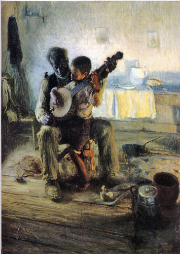 Tanner, Henry Ossawa (1859-1937) - 1893  The Banjo Lesson