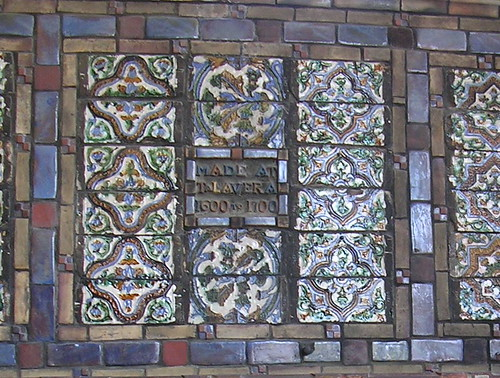 Tile Display at Fonthill