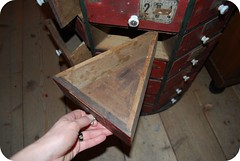 Antique Triangle Cabinet