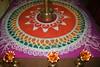 Rangoli (murlinambiar1) Tags: indian traditional colourful diwali kolam rangoli indiaart sanskarbharati