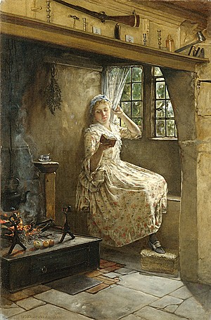 A Cozy Corner by Francis Davis Millet