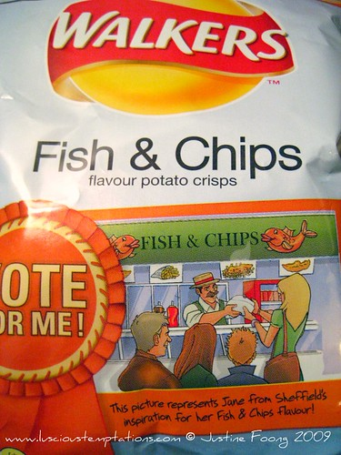Fish & Chips Walkers Crisps