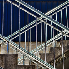 b8714 Urban Steel and Concrete (tengtan (catching up)) Tags: city urban detail building lines stairs concrete back geometry steel steps melbourne gritty architectural dirt rails weathered railing shining contrasts shimmer teng realism grittiness auselite tengtan uniquechallenge
