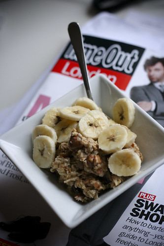 Bircher Muesli with Bananas and TimeOut London
