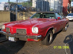 1973 OLDSMOBILE CUTLASS SUPREME (dmitriy79) Tags: red ny brooklyn coupe 1973 olds oldsmobile cutlass cutlasssupreme