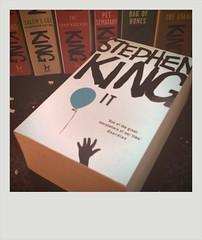 i don't like clowns (Ben Locke) Tags: polaroid books iphone