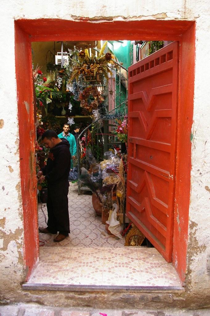 Florist in Fes Mellah
