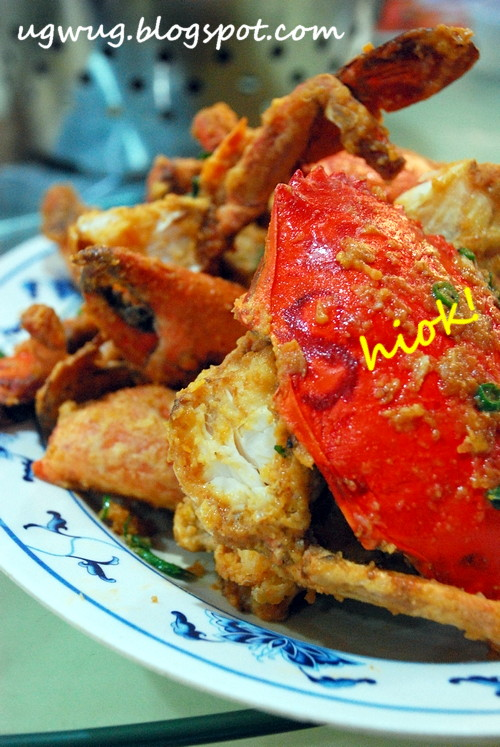 Salted Egg Yoke Crab