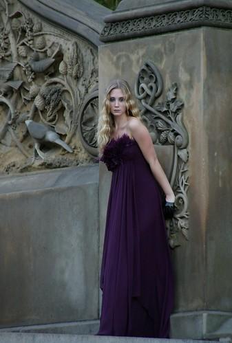 Violet in Central park