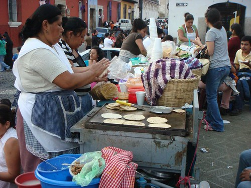 The Tortilla Woman.