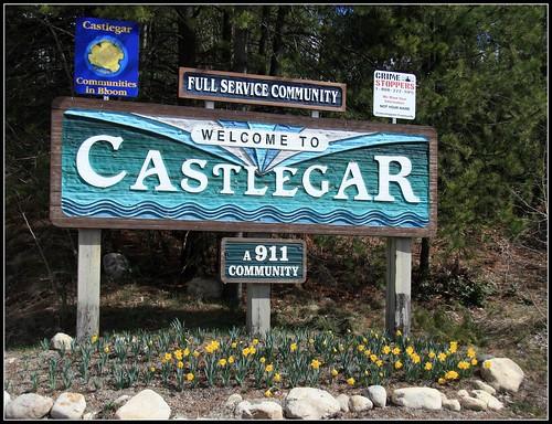 Castlegar Sign