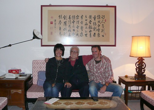 me and jeremy with gong gong, taipei