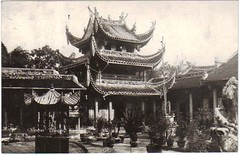 (China Postcard) Tags: china old history vintage temple photo buddha postcard chinese buddhism figure  joss    pogoda          comfucions