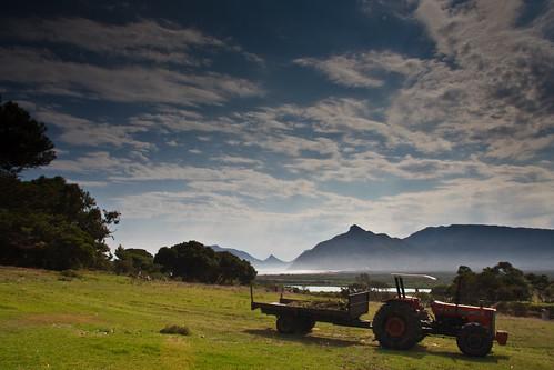 """""""Meisie"""" Ferguson tractor, seen at Kommetjie"""