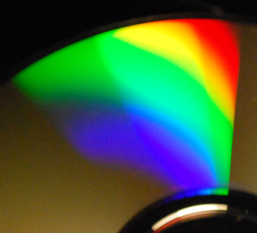 Spectrum of an LED light bulb