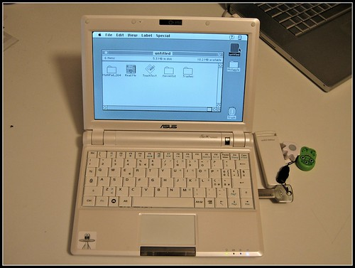 Mac OS Classic on Asus EeePC