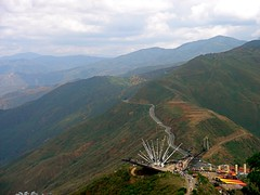 Colombia - PANCHI (Yalila Guiselle) Tags: road mountains green rio clouds river colombia canyon montaas caon chicamocha