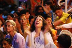 Divine (Paavani) Tags: travel vacation india lady religious nikon meditate power god divine hopes wishes april 2009 prayers ganges aarti rishikesh nonreligious paavani uttranchal goodfeel krishlikesit godgrace inconnectwithownself gangaaarti ilovedtheplace itwasdivine tuesdayspecial explore386on2ndmay
