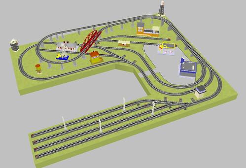 O gauge toy train layouts java