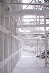 Shiraishi-Mine030 (Kosei.S) Tags: white plant japan wooden ruins mine factory decay room pillar structure lime d200 shiraishi