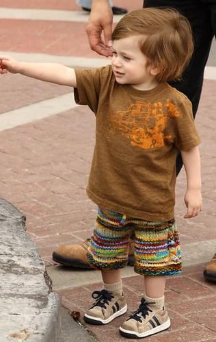 Avery's Scrappy Shorts