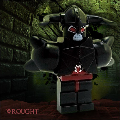 Wrought custom minifig