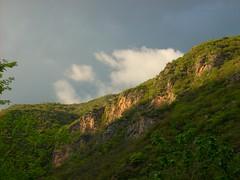 Margalla Hills (wandering clouds) Tags: blue trees pakistan sky cloud sunlight white storm green nature rain clouds grey asia rainyday hiking hill hills vegetation greenery rays punjab shrubs islamabad margalla margallahills wanderingclouds
