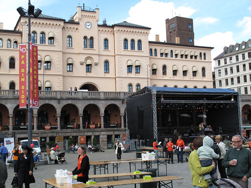 Youngstorget music stage