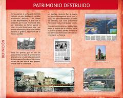 """Panel 9, Exposición """"S.O.S. Patrimonio"""""""