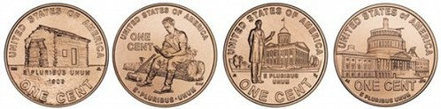 Lincoln Cent 2009 Designs2