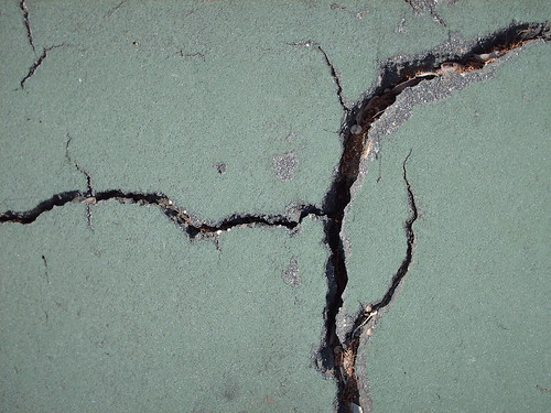 Cracks from Tennis Court - #8