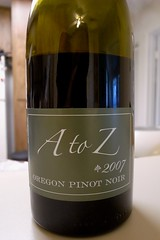 2007 A to Z Pinot Noir