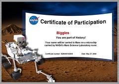 Mars Biggles