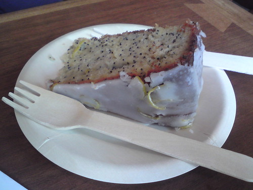 Merci: Gâteau citron-pavot