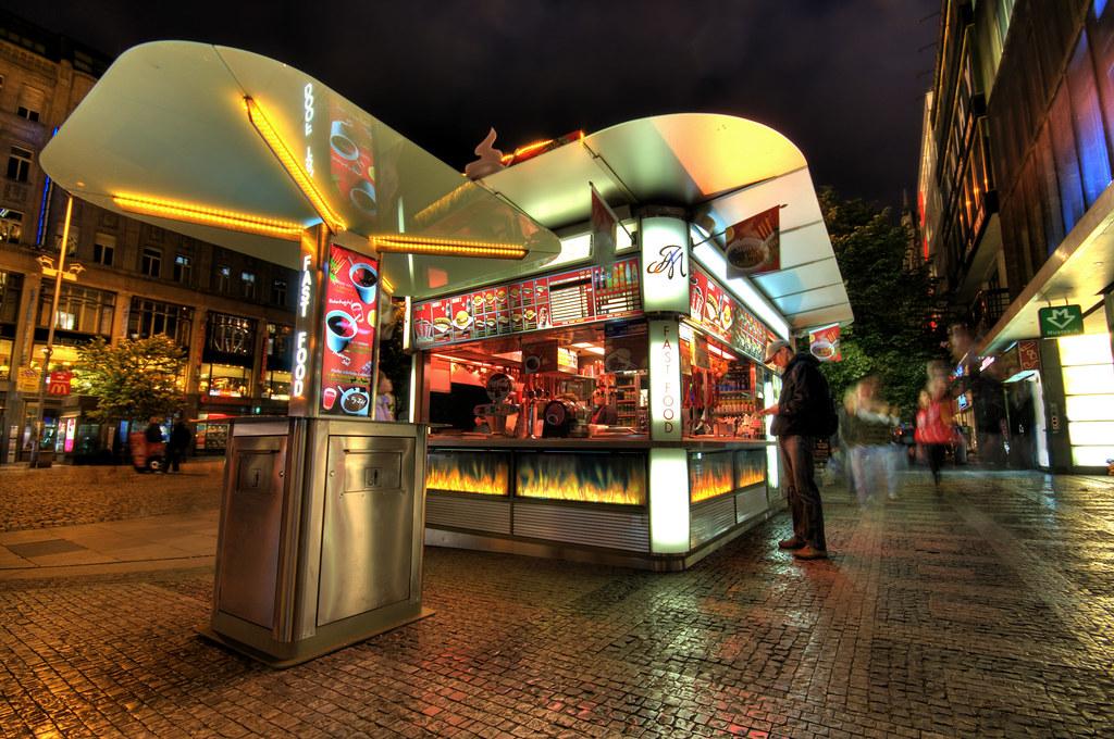 Hotdog stand