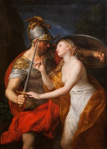 The Allegory of War and Peace by Pompeo Batoni