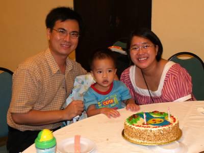 Julian, Mummy & Daddy