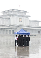 Kim Il Sung Kumsusan memorial Pyongyang North Korea (Eric Lafforgue) Tags: pictures rain photo memorial war asia picture korea kimjongil asie coree northkorea pyongyang dprk coreadelnorte kimilsung nordkorea 5692    coredunord coreadelnord  kumsusan kumsusanmemorialpalace coreedunord  insidenorthkorea  rpdc  coriadonorte  kimjongun coreiadonorte