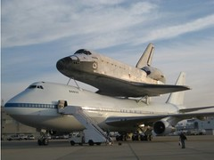 Shuttle Atlantis Preps for Flight by Dawn's Early Light (NASA, Space Shuttle, 6/1/09) (NASA's Marshall Space Flight Center) Tags: nasa atlantis boeing kennedyspacecenter spaceshuttle edwardsairforcebase shuttlecarrieraircraft ferryflight biggsarmyairfield danielkanigan