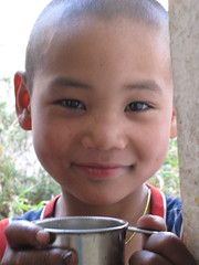 My Young Monk on a Tea-Break