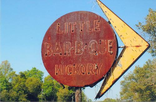 Bar-B-Que Sign