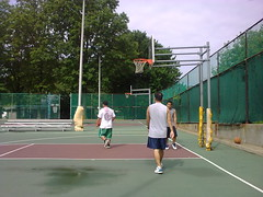 Up early. Ball at the park #nokia e75